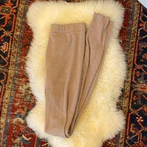 Intimately Free People Sweater Ribbed Leggings